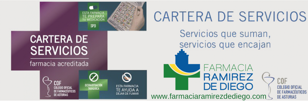 Servicios - Farmacia Ramírez de Diego