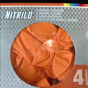 Guantes de nitrilo alta proteccion