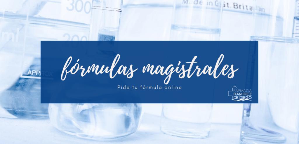 Formulas Magistrales farmacia Ramírez de Diego